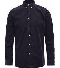 felix corduroy light shirt skjorta casual blå les deux