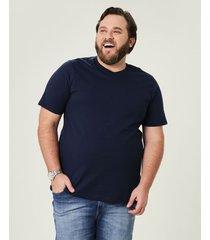 camiseta tradicional meia malha wee! azul escuro - m