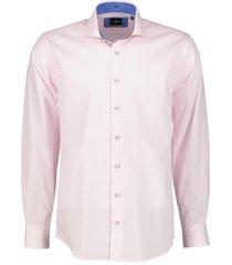 jac hensen overhemd - regular fit - roze