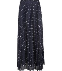 parosh polka dot lace applique skirt