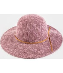 bailey floppy hat in rose - rose