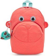 kipling womens pink backpack