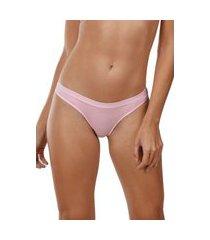 calcinha biquíni cotton demillus 53053 rosa verano