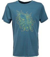 polera sun pro uvstop short sleeve t-shirt azul lippi