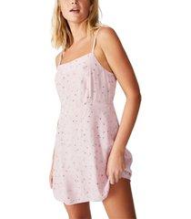 cotton on woven 90s mini dress