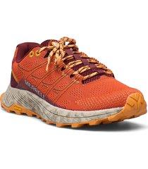 moab flight tangerine shoes sport shoes running shoes orange merrell