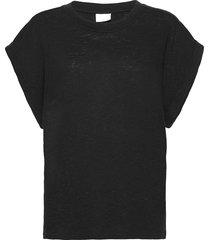 2nd bassor t-shirts & tops short-sleeved zwart 2ndday
