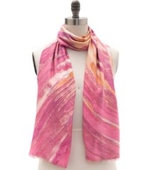 inc international concepts brush strokes pashmina scarf, created for macy's