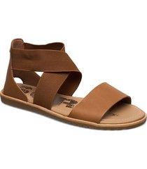 ella™ sandal shoes summer shoes flat sandals brun sorel