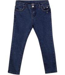 jeans bolsillo trenzado azul pillin