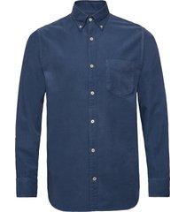 levon shirt 5082 overhemd casual blauw nn07