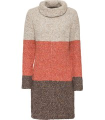 abito in maglia a collo alto (marrone) - bodyflirt