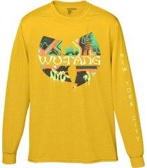 wu-tang clan graffiti men's graphic t-shirt