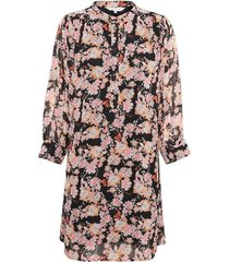 georginepw jurk, winter rose print