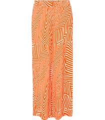pantaloni con elastico in vita e tasche (arancione) - bodyflirt