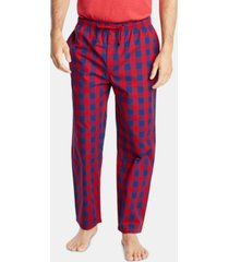 nautica men's cotton plaid pajama pants