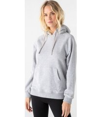 thread supply lined hood pullover hoody