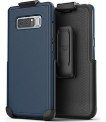 galaxy note 8 belt case, [slimshield edition] protective grip case with holster
