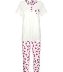 pyjama blue moon ecru::fuchsia