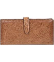 women's frye slim reed leather wallet -