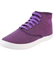 zapatilla violeta deli