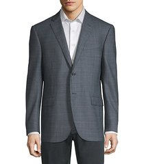 birdseye academy wool & silk suit jacket