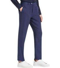 paisley & gray slim fit suit separates pants blue & red stripe