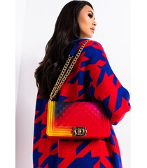 akira im ready quilted rubber purse