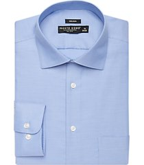 pronto uomo big and tall blue queens oxford classic fit dress shirt