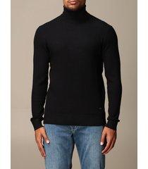 emporio armani sweater emporio armani turtleneck in viscose blend