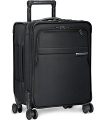"briggs & riley baseline commuter 19"" softside carry-on spinner"