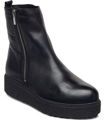 a-9508-m shoes boots ankle boots ankle boot - flat svart wonders