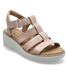 jillian quartz shoes summer shoes flat sandals beige clarks