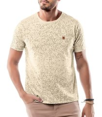 camiseta full print no stress amarela - kanui