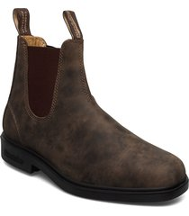 bl dress boots shoes chelsea boots brun blundst