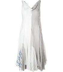 striped handkerchief dress