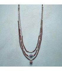 sundance catalog women's garnet grapevine necklace