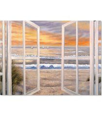 "joval 'elongated window on canvas' canvas art - 24"" x 18"""