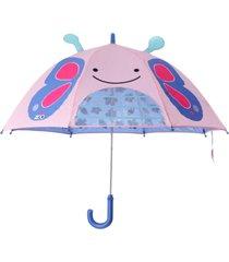 guarda chuva skip hop borboleta rosa - tricae