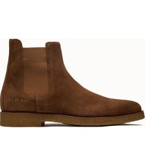 common projects stivaletti chelsea colore marrone