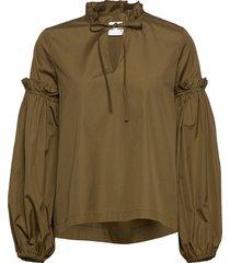 maia shirt 11468 blouse lange mouwen groen samsøe samsøe