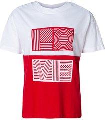 camiseta love (bicolor, gg)