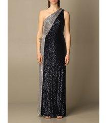 lauren ralph lauren dress lauren ralph lauren one-shoulder dress in sequins