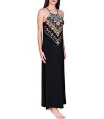 lange jurk lisca zomerse lange jurk haïti zwart