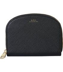 a.p.c. designer wallets, demi lune wallet