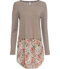 maglione con gonna (marrone) - rainbow