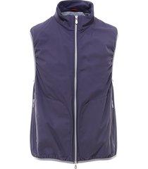 brunello cucinelli sleeveless zipped vest
