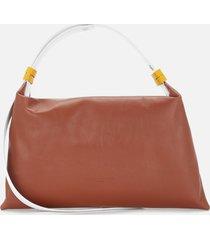 simon miller women's puffin shoulder bag - tan multi