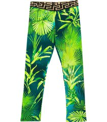 young versace trousers with tropical press