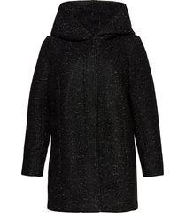 carnewsedona wool coat otw yllerock rock svart only carmakoma